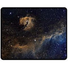 Seagull Nebula Double Sided Fleece Blanket (medium)  by SpaceShop