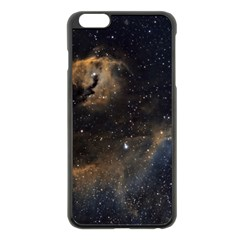 Seagull Nebula Apple Iphone 6 Plus/6s Plus Black Enamel Case by SpaceShop