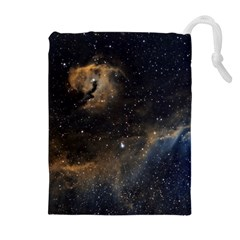 Seagull Nebula Drawstring Pouches (extra Large) by SpaceShop