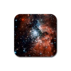 Star Cluster Rubber Coaster (square)  by SpaceShop