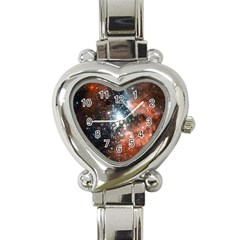 Star Cluster Heart Italian Charm Watch by SpaceShop
