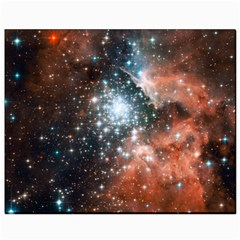 Star Cluster Canvas 8  X 10  by SpaceShop