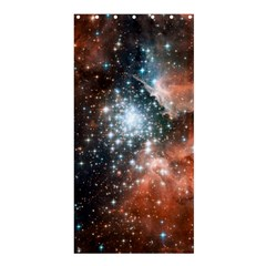 Star Cluster Shower Curtain 36  X 72  (stall)  by SpaceShop
