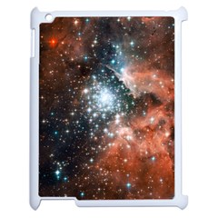 Star Cluster Apple Ipad 2 Case (white) by SpaceShop