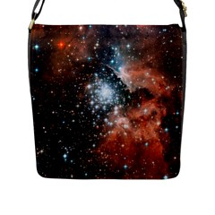 Star Cluster Flap Messenger Bag (l)  by SpaceShop