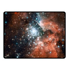 Star Cluster Double Sided Fleece Blanket (small)