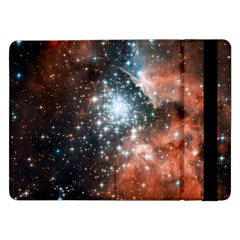 Star Cluster Samsung Galaxy Tab Pro 12 2  Flip Case by SpaceShop