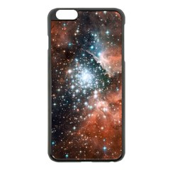 Star Cluster Apple Iphone 6 Plus/6s Plus Black Enamel Case by SpaceShop