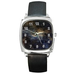 Propeller Nebula Square Metal Watch by SpaceShop