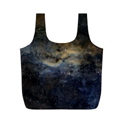Propeller Nebula Full Print Recycle Bags (m)  by SpaceShop