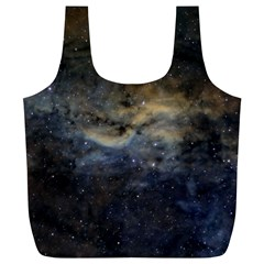 Propeller Nebula Full Print Recycle Bags (l)  by SpaceShop