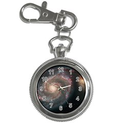Whirlpool Galaxy And Companion Key Chain Watches by SpaceShop