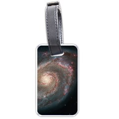 Whirlpool Galaxy And Companion Luggage Tags (two Sides)