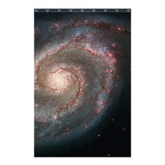 Whirlpool Galaxy And Companion Shower Curtain 48  X 72  (small)  by SpaceShop