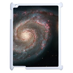 Whirlpool Galaxy And Companion Apple Ipad 2 Case (white) by SpaceShop