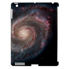 Whirlpool Galaxy And Companion Apple Ipad 3/4 Hardshell Case (compatible With Smart Cover) by SpaceShop