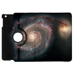 Whirlpool Galaxy And Companion Apple Ipad Mini Flip 360 Case by SpaceShop