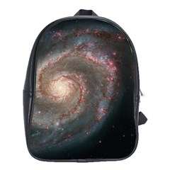 Whirlpool Galaxy And Companion School Bags (xl)  by SpaceShop