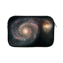 Whirlpool Galaxy And Companion Apple Ipad Mini Zipper Cases by SpaceShop