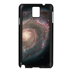Whirlpool Galaxy And Companion Samsung Galaxy Note 3 N9005 Case (black) by SpaceShop