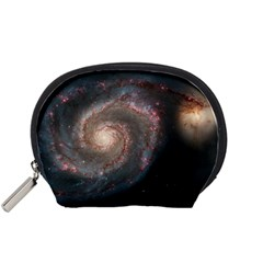 Whirlpool Galaxy And Companion Accessory Pouches (small)  by SpaceShop