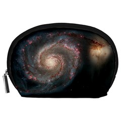 Whirlpool Galaxy And Companion Accessory Pouches (large)  by SpaceShop