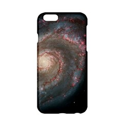 Whirlpool Galaxy And Companion Apple Iphone 6/6s Hardshell Case by SpaceShop