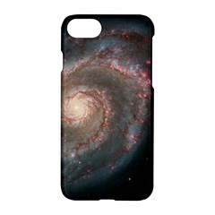 Whirlpool Galaxy And Companion Apple Iphone 7 Hardshell Case by SpaceShop