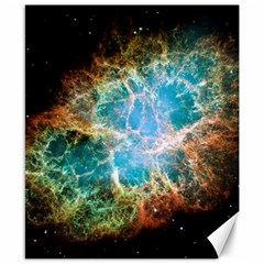 Crab Nebula Canvas 8  X 10  by SpaceShop