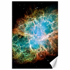 Crab Nebula Canvas 12  X 18   by SpaceShop
