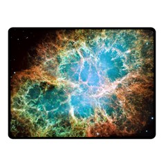 Crab Nebula Fleece Blanket (small) by SpaceShop