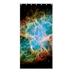 Crab Nebula Shower Curtain 36  X 72  (stall)  by SpaceShop