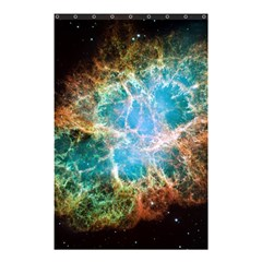 Crab Nebula Shower Curtain 48  X 72  (small)  by SpaceShop