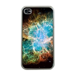 Crab Nebula Apple Iphone 4 Case (clear) by SpaceShop