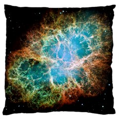 Crab Nebula Large Cushion Case (two Sides) by SpaceShop
