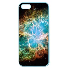 Crab Nebula Apple Seamless Iphone 5 Case (color) by SpaceShop