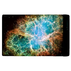 Crab Nebula Apple Ipad 2 Flip Case by SpaceShop