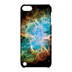 Crab Nebula Apple Ipod Touch 5 Hardshell Case With Stand by SpaceShop