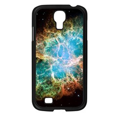 Crab Nebula Samsung Galaxy S4 I9500/ I9505 Case (black) by SpaceShop