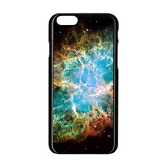 Crab Nebula Apple Iphone 6/6s Black Enamel Case by SpaceShop