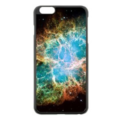 Crab Nebula Apple Iphone 6 Plus/6s Plus Black Enamel Case by SpaceShop