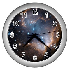 New Stars Wall Clocks (silver)  by SpaceShop