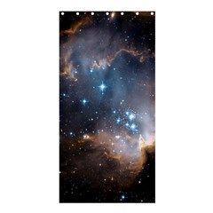 New Stars Shower Curtain 36  X 72  (stall)  by SpaceShop