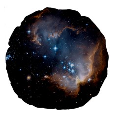 New Stars Large 18  Premium Round Cushions by SpaceShop