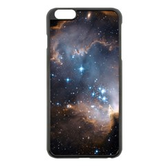 New Stars Apple Iphone 6 Plus/6s Plus Black Enamel Case by SpaceShop