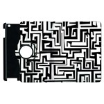 Pattern Apple iPad 2 Flip 360 Case Front