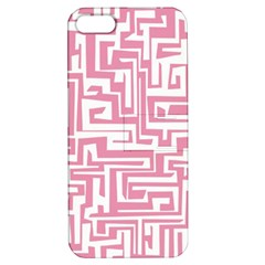 Pink Pattern Apple Iphone 5 Hardshell Case With Stand by Valentinaart