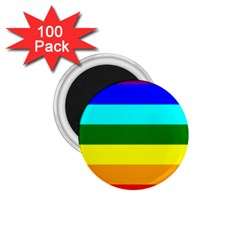 Rainbow 1 75  Magnets (100 Pack)  by Valentinaart