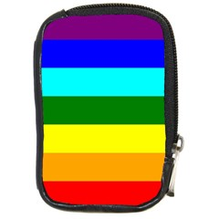 Rainbow Compact Camera Cases by Valentinaart