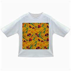 Floral Pattern Infant/toddler T Shirts